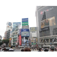 渋谷駅ハチ公口 喫煙所(TSUTAYA前)