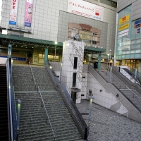 新宿東南口駅前広場 喫煙所