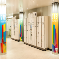 SHIBUYA 109 コインロッカー取扱所 / 澀谷109 投幣式儲物櫃處理廠