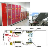 首里駅 / Shuri station Coin casier