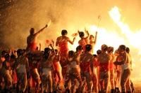 勝部の火祭り(Katsube  fire Festival)