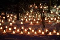 弘前城の雪遊びフェスティバル