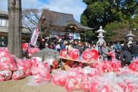 高尾山だるま市(Takao Daruma market )
