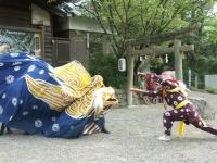藤白の獅子舞(Hujishirono shishimai)