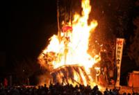 野沢温泉 の道祖神祭り(Nozawa Onsen Dousojin  festival )