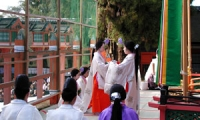 春日大社 神楽始式(Kasuga Taisha Shrine Kagura initia)