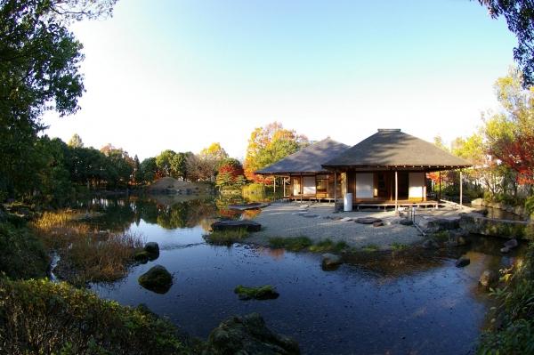 名勝養浩館(旧御泉水屋敷)庭園