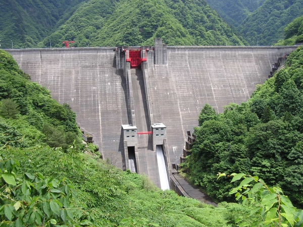 Kajigawa防洪壩/加治川治水ダム