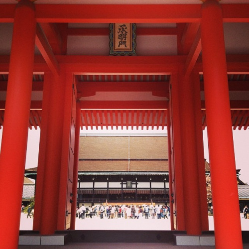 京都御所 / The Kyoto Imperial Palace