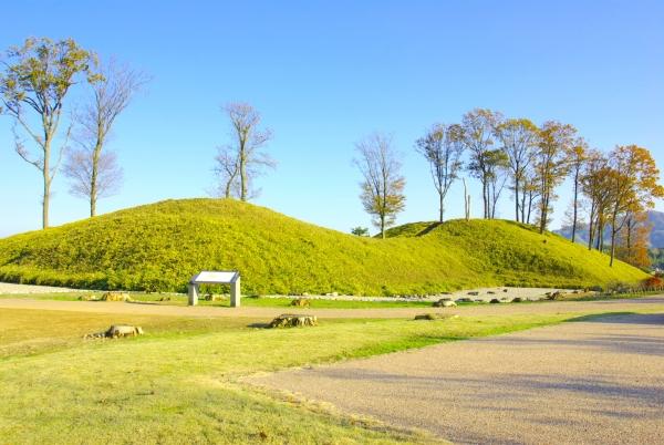 Yanaidanu-no-Oyama Kofun / 柳田布尾山古墳公園 古墳館