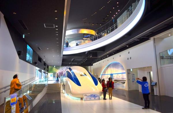 山梨縣立磁懸浮展覽中心/山梨県立リニア見學センター