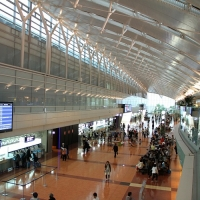 羽田空港 国内線ターミナル / Haneda Flughafen Domestic Terminal