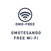 表参道 Free Wi-Fi / Omotesando Miễn phí Wi-Fi