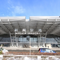 新潟空港/Aeroporto di Niigata
