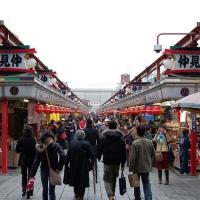 仲見世商店街 / Nakamise quartiere dello shopping